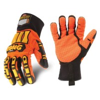KONG ORIGINAL Impact Protection Gloves - Orange Hi Vis Palm